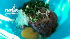 Puf Puf Kabaran Yumuşacık Köfte - Nefis Yemek Tarifleri Pudding, Beef, Desserts, Food, Meat, Tailgate Desserts, Deserts, Custard Pudding, Essen