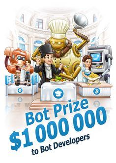 $1,000,000 to #Bot #Developers. For free.