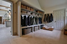 Cotswold Boot Room There every step of the way Daniel will manage your project from start to finish, with a meticulous eye for detail and an insistence for perfection. From your initial enquiry it can be as little as 5 weeks Boot Room Storage, Utility Room Storage, Cloakroom Storage, Hallway Storage, Cloakroom Ideas, Mudroom Laundry Room, Laundry Room Design, Boot Room Utility, Utility Room Designs