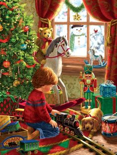 58 Best Christmas Jigsaw Puzzles Images On Pinterest In