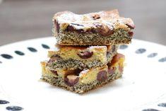 Fotorecept: Makový špaldový koláč s čerešňami