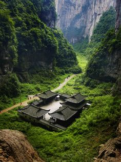 Set among the lush forest and #Karst cliff, Tianfu Hostel creates a tranquil world in #Wulong, #Chongqing, China