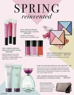 Mary Kay's New Spring Lineup 2017.