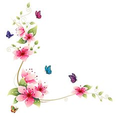 Floral Flowers Wall Decal