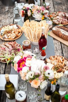 table setting - pic nic party