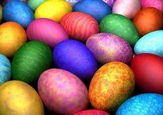 Huevos de Pascua: Fotos de modelos para decorar - Ideas para decorar los huevos de Pascua de diferentes colores