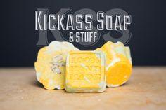 THREE Kickass Klean Soaps 3 oz ea by KickassSoap on Etsy