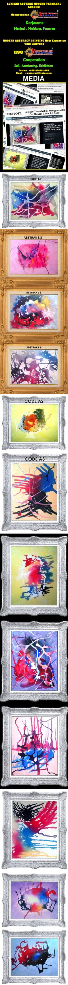 Modern Abstract Painting THIS costliest CENTURY