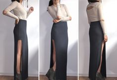 Long skirt DIY