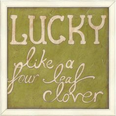 Big Fish Four Leaf Clover Wall Art | Pure Home #lucky