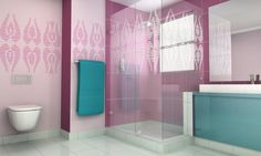 bathroom interior {designed by Paintwall, the Hungarian art studio}