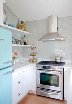 pared cocina azulejo gris