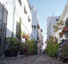 Street view of Almuñecar