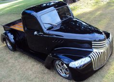 Chevrolet 1946 Pick Up 5 Nice headlight conversion. Chevrolet Trucks, Gmc Trucks, Cool Trucks, Cool Cars, Diesel Trucks, Lifted Trucks, Chevrolet Silverado, Chevy Chevelle, Classic Pickup Trucks