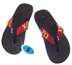 Chi Omega Sorority Flip-Flops $18.99