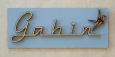 Plaque Gabin avec Grue