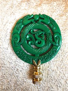 A personal favorite from my Etsy shop https://www.etsy.com/listing/591022237/kelly-green-lacquered-chinoiserie-lamp