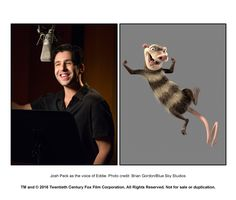 Adam Devine in Ice Age: Collision Course Ice Age Collision Course, Josh Peck, Adam Devine, Blue Sky Studios, A Bug's Life, Entertainment Weekly, Tarzan, The New Yorker, Looney Tunes