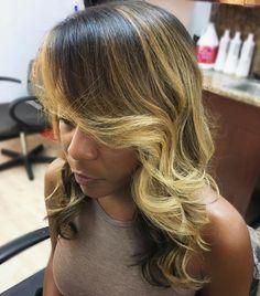 Blonde Balayage For Black Women