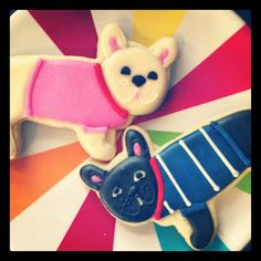 lil hoot: french bulldog cookies