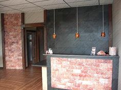 HOME & BEDROOM SALT WALL CONSTRUCTION EXAMPLES   BUTCHERY AND MEAT SHOP EXAMPLES   HOTELS, RESTAURANTS, CAFE & OTHER EXAMPLES OFFICE AND RECEPTI…