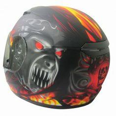 Viper RS-60 Demon full face Motorcycle helmet - Red