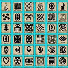 Adinkra Symbols | by Shila Iris