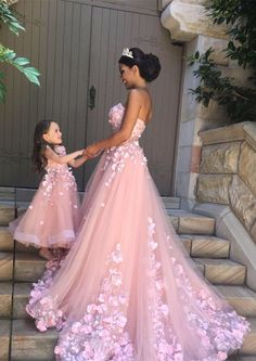 A beautiful pink and elegant dress, sure to make you feel like a princess. Remember to follow me! xo Emma