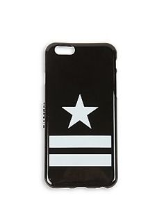 Givenchy Stars On Stripes iPhone 6 Case - Black
