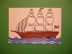 e1d0c7d97d66 Let s Draw a Clipper Ship!