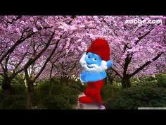 Frühling macht misch......... Schlumpf von der Schlümpfe Familie Zoobe deutsch Frühling