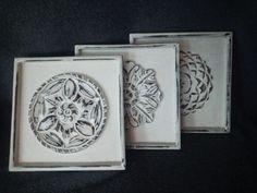 "Deco-bord - Drieluik ""Ornament"" | Karin's Deco Atelier"