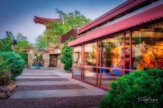 Kiva Pool at Taliesin West @wrighttaliesin #taliesinwest #franklloydwright #scottsdale #arizona