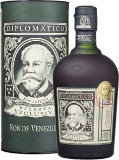 Made from a blend of rums matured in used bourbon and Scotch casks, the origins of this rum can be traced back to the 19th century. Ron Diplomático Reserva Exclusiva Rum | @Caskers