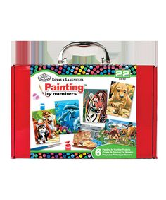 Look at this Mini 'Painting by Numbers' Kit on #zulily today!