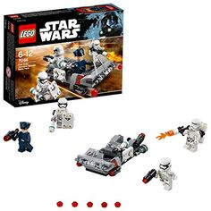 Lego Star Wars First Order Transport Speeder Battle Pac Red Lego Star Wars, Star Wars Sith, Building Toys For Kids, Lego Building Sets, Lego City, Micro Lego, Free Lego, Life App, Lego War