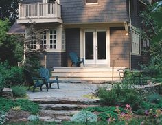 wrap around patio-Deck Ideas that Work! - traditional - landscape - The Taunton Press, Inc