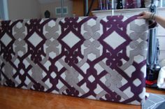 This past weekend I helped out my cousin with making a headboard for her guest room. I shared a photo of my current headboard in this post and thought it would be helpful to do a full tutorial of … Bedroom Diy, Fabric Covered Headboard, Diy Home Decor, Diy Headboard, Home, Home Diy, Diy Fabric Headboard, Diy Furniture, How To Make Headboard