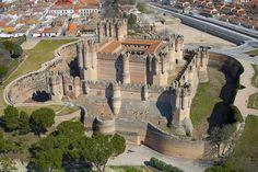 Castelo de Coca, Segóvia, Espanha