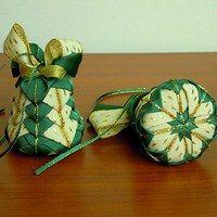 Hledání zboží: artyčok / Vánoce / Svátky | Fler.cz Bell shaped ornament quilted design