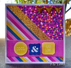 Peachy Paper Crafts Part Deux: #30yearsofhappy Blog Hop #ConfettiWishes