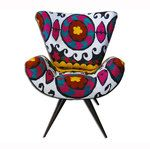 Frida Chair Suzani White | Fab.com