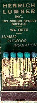 Henrich Lumber Inc. , Buffalo, NY