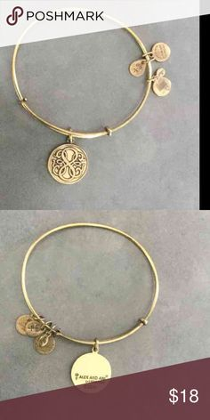Alex and Ani Path of Life Good used condition, usual tarnish Alex & Ani Jewelry Bracelets