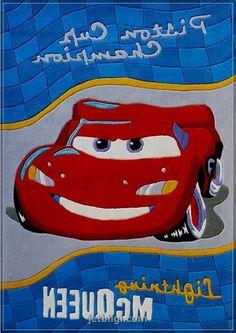 Arabalı Erkek çocuk Halısı
