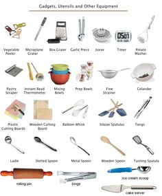 kitchen tools - Cerca con Google