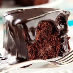Bolo Triplo de Chocolate