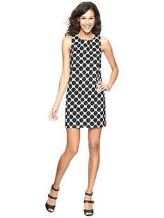 This black and white polka dot dress is so versatile, and can easily be dressed up for day or night!