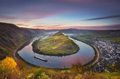 Mosel Bend by Michael  Breitung, via 500px