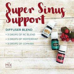 Super Sinus Support #essentialoilssinus